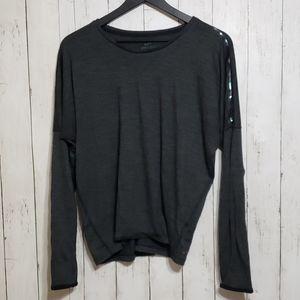 Nike | wool blend dolman dri-fit